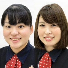 上田 麻那・山本 寛子