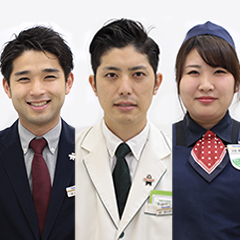 井上 森彦・堀 恵太郎・浜里 尋佳